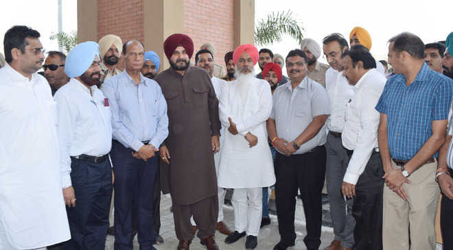 Sidhu opens Solid Waste Mgmt Programme at Patti