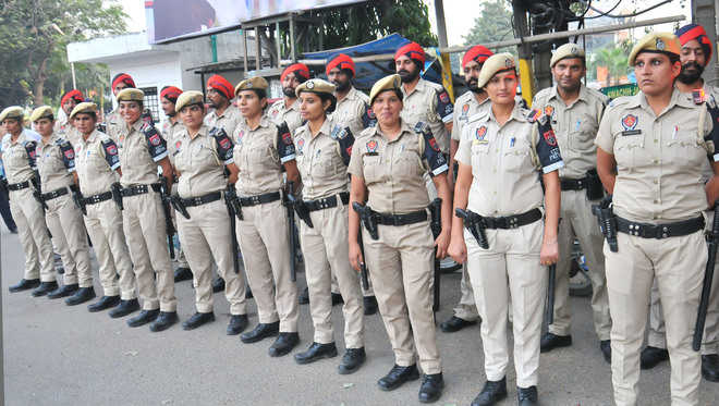 Police launch foot patrolling in city