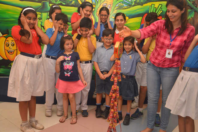 Meanwhile, in tricity schools, green Diwali is a hot topic
