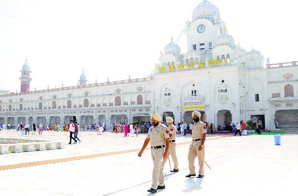 Security beefed up at Golden Temple