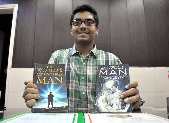 Young Parth releases sequel of his book