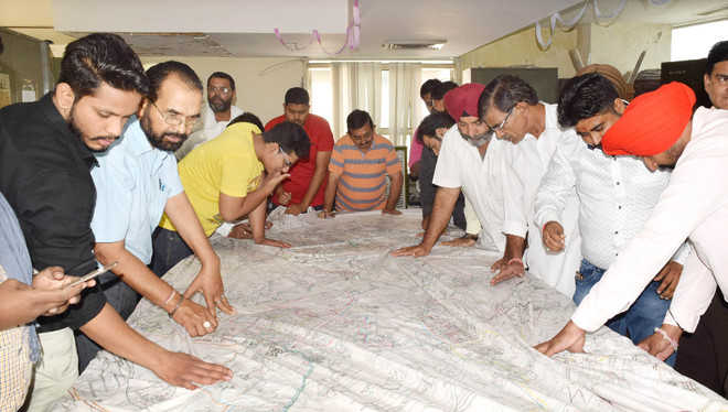 City divided into 80 wards, map released