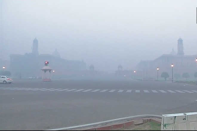 Delhi's post-Diwali air quality takes plunge, enters 'severe' zone