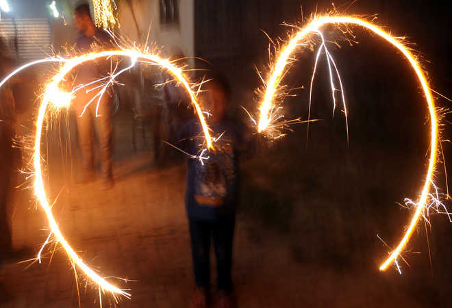 Residents burst crackers beyond 9.30 pm, 10 booked
