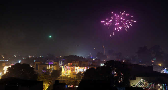 Dip in Diwali pollution levels this time