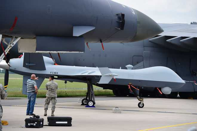 US Considering Indian Request Of Armed Drones For Air Force