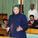Virbhadra Singh files nomination from Arki constituency in Solan