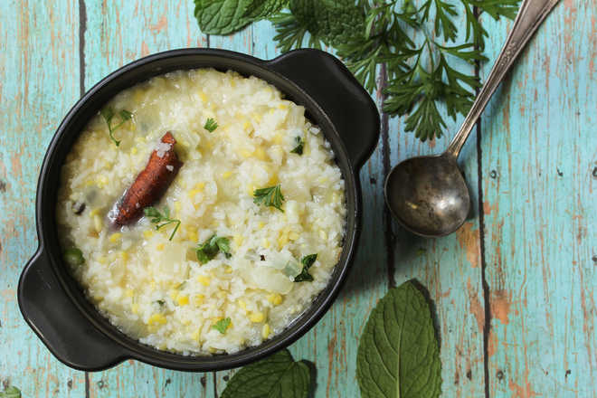 The mix-up about the dal-chawal mixup