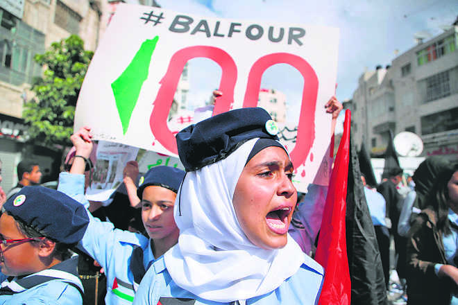 Balfour's bully boy