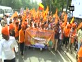 Rajput Karni Sena demonstrate against 'Padmavati'