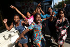 Zimbabwe erupts in joy