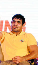 Sushil gets 3 walkovers and gold