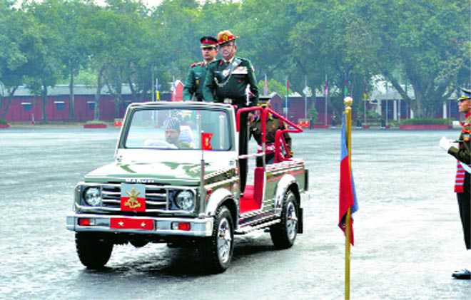 Dy Commandant's parade held at IMA