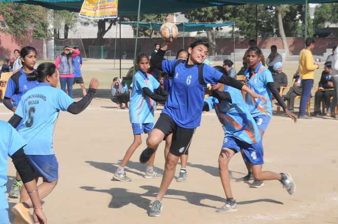 Nail-biting contests on Day 3 of handball meet