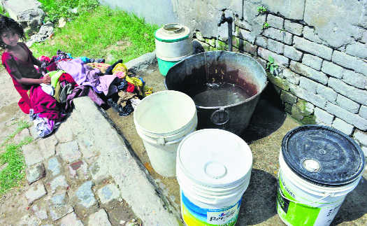 Water woes, be it supply or rain