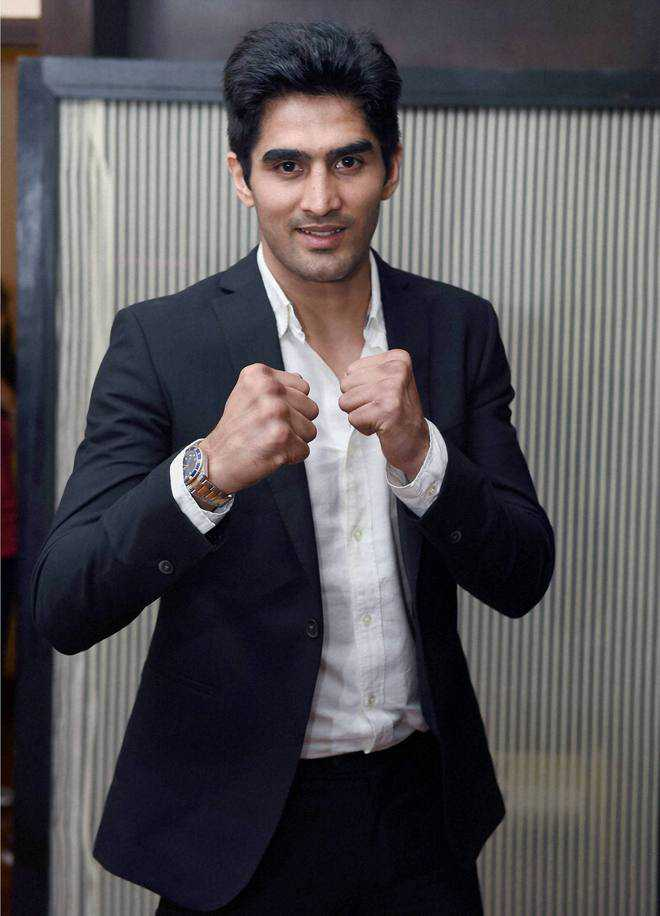 Vijender in title bout against Amuzu