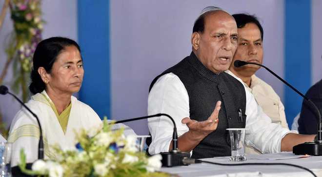 Be vigilant against Rohingya influx, Rajnath tells states