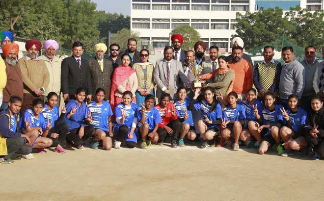 Bathinda girls win handball tournament