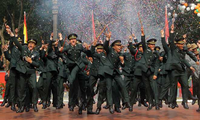 166 Gentleman Cadets commissioned as Army officers