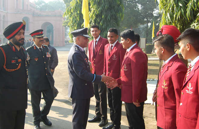 250 officers attend Sainik School meet