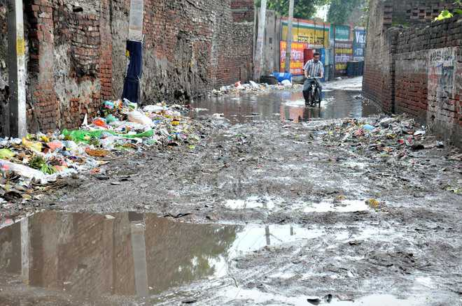 Residents here are wary of rains