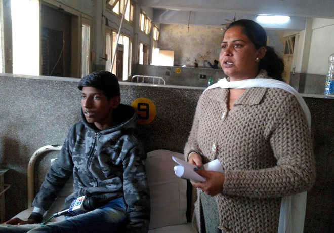 No official came to visit us, complains mother