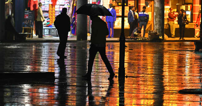 Winter's first showers lash tricity, expect more rain