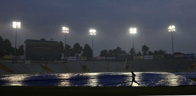 India-Lanka ODI at Mohali under cloud