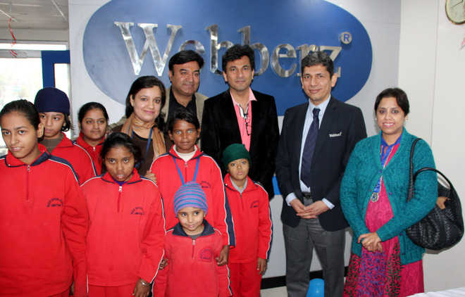 Chef Vikas Khanna meets special children