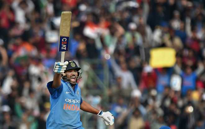 Ruthless Rohit double leads India to 141-run win over Sri Lanka