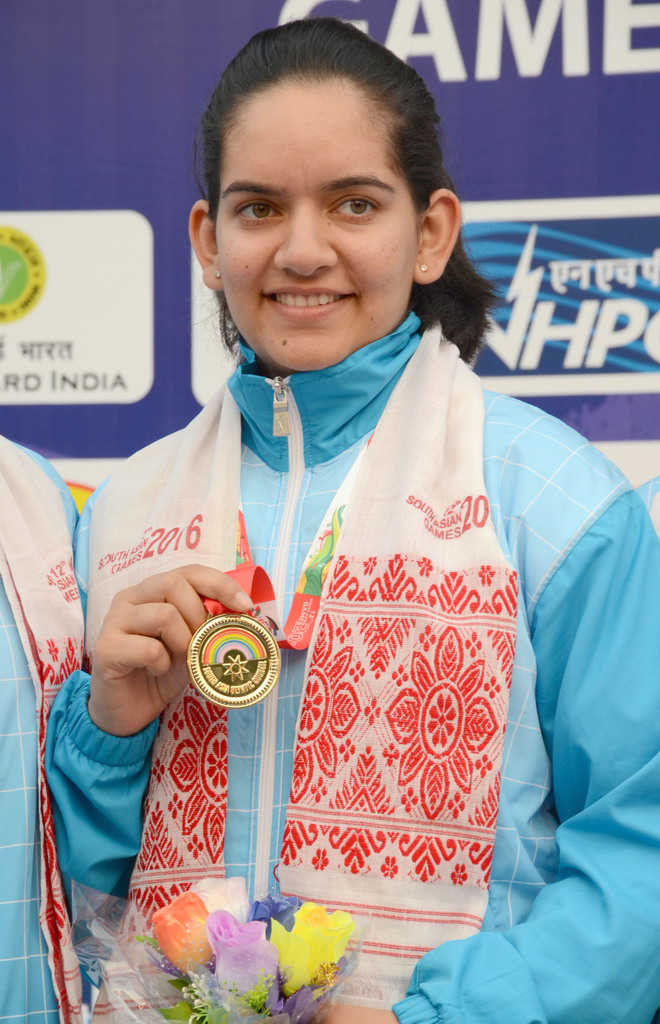 Anjum wins two more gold medals