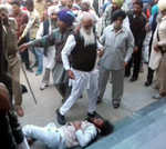SAD, Cong clash in Moga,10 hurt