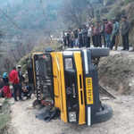 5-year-old boy killed, father hurt in Kullu road accident