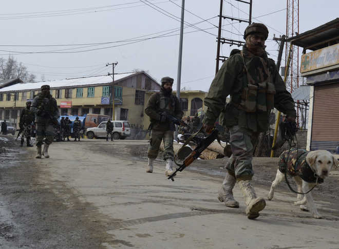 Image result for Two militants killed in Sopore gunfight,