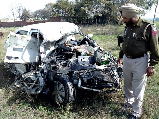 3 of Ludhiana-based family killed in road accident in Kharar