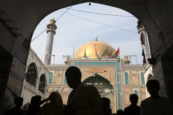 Devotees Perform Dhamal At Pak Shrine Hit By Suicide Bombing