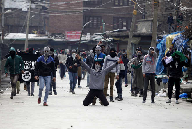 Legal action taken against stone-throwers, says police