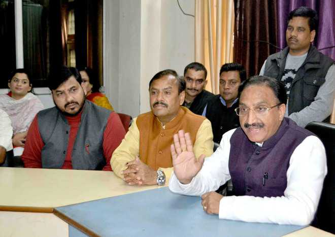 Cong used illegal means to lure voters: Nishank
