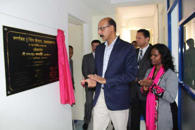 Police cyber training centre opened