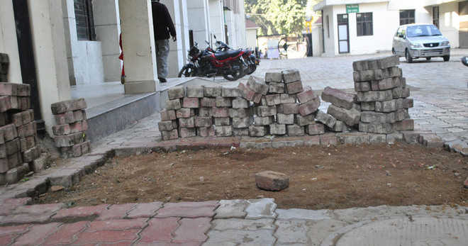 Caving in of tiles a common phenomenon in city