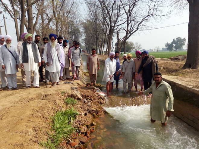 Tail-end villages face water shortage