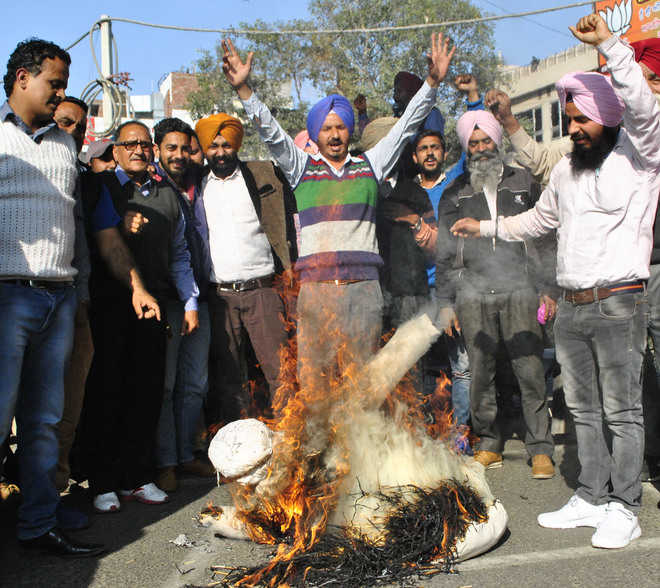 SSA-RMSA employees hold protest