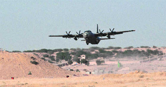 IAF's Super Hercules damaged in Ladakh's Thoise airfield