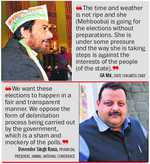 Oppn questions timing of panchayat poll