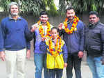 City powerlifters bag four medals in junior national c'ship