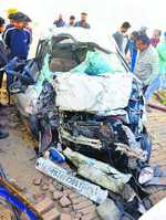Three Thapar University students killed in accident, one injured