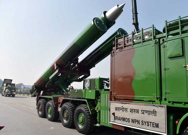 India test-fires BrahMos missile with 450km range