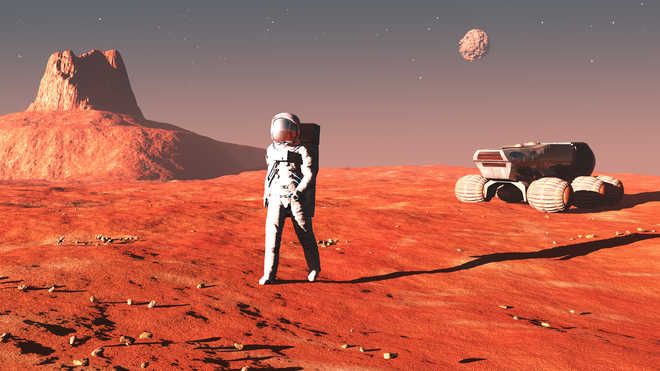 'Enhanced humans' could colonise Mars