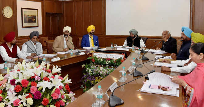 Punjab Cabinet Approves State GST Bill to be tabled in Budget session