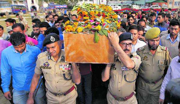 When trumpets fade behind J&K's martyred cops
